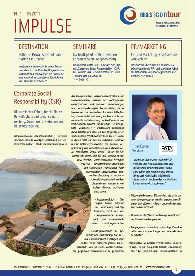 Newsletter Impulse 04.2011 Deutsch