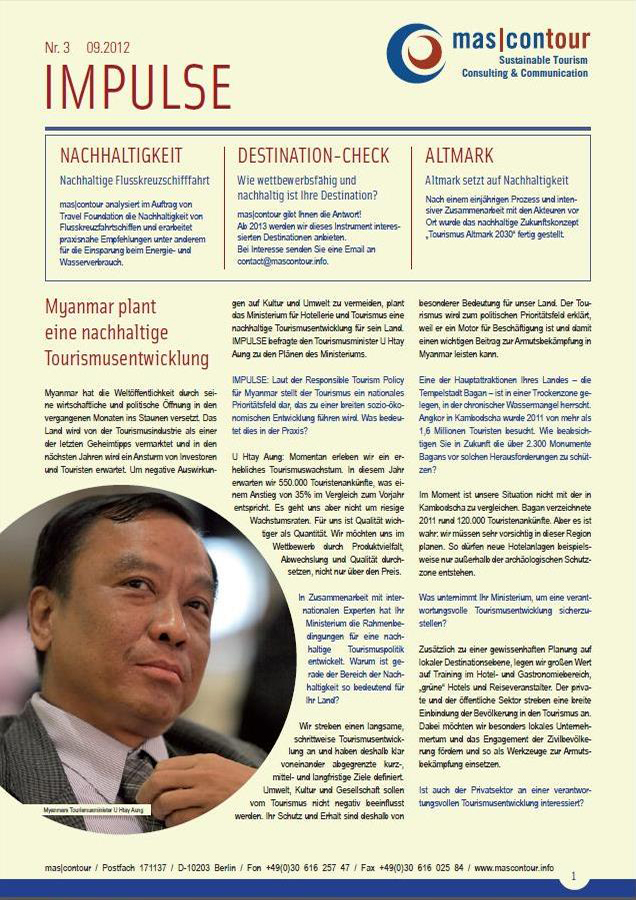 Newsletter Impulse 09.2012 Deutsch